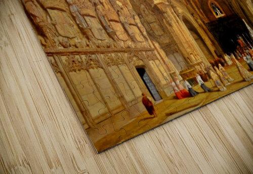 Interieur de la cathedrale Saint-Jean-des-Rois de Tolede jigsaw puzzle
