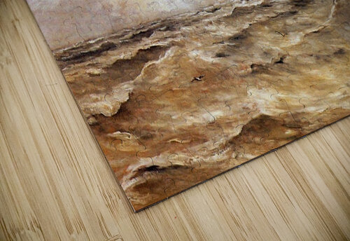 La Mer du Nord Sun jigsaw puzzle
