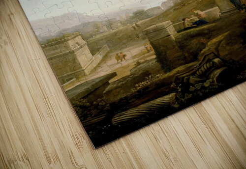 Landscape with Burial of St. Serapia jigsaw puzzle