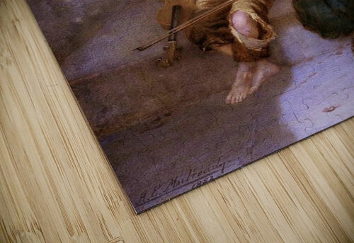 Comforitng a crying girl jigsaw puzzle