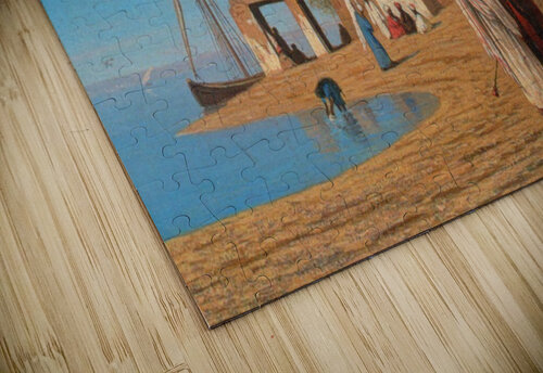 A Village on the Shores of the Nile jigsaw puzzle