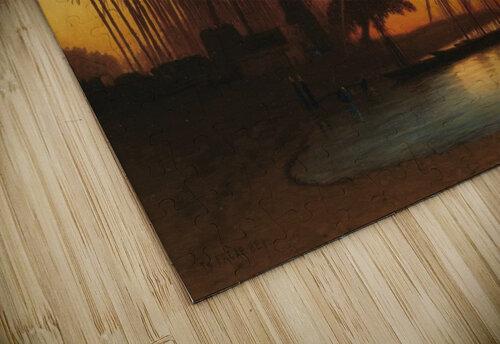 Sunset on the Nile jigsaw puzzle
