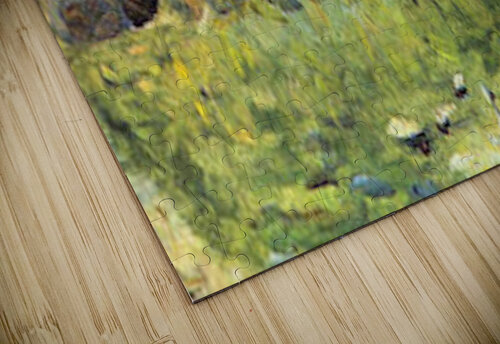 Farmer at work by Seurat jigsaw puzzle