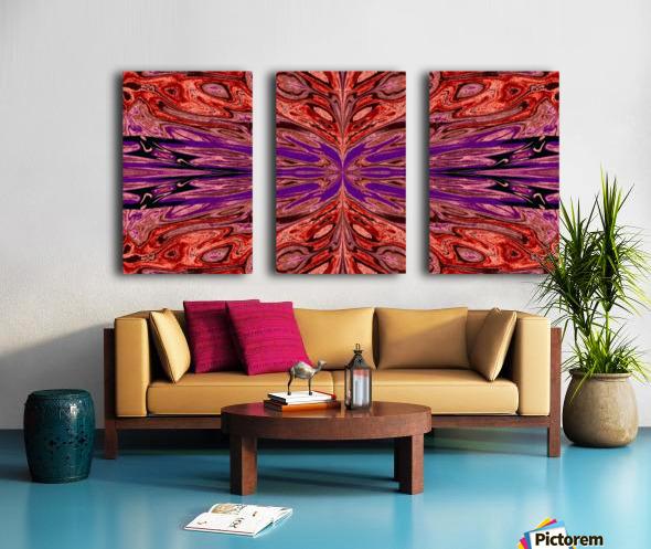 Queen of the Butterflies 39 Split Canvas print