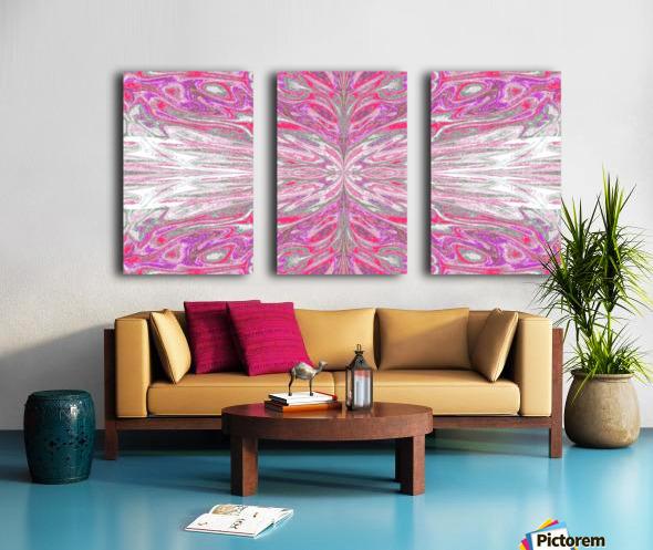 Queen of the Butterflies 57 Split Canvas print