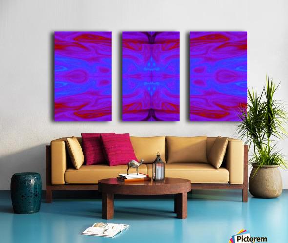 Queen of the Butterflies 101 Split Canvas print