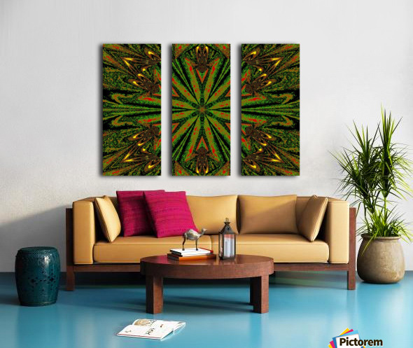 Wild Wildflowers 26 Split Canvas print