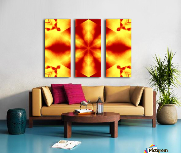 A Flower 12 Split Canvas print