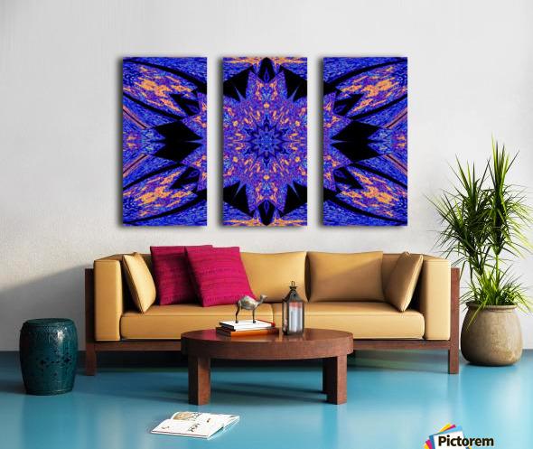 Sapphire of The Desert Split Canvas print