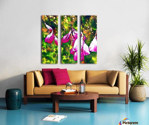 Angels Fishing rod Split Canvas print