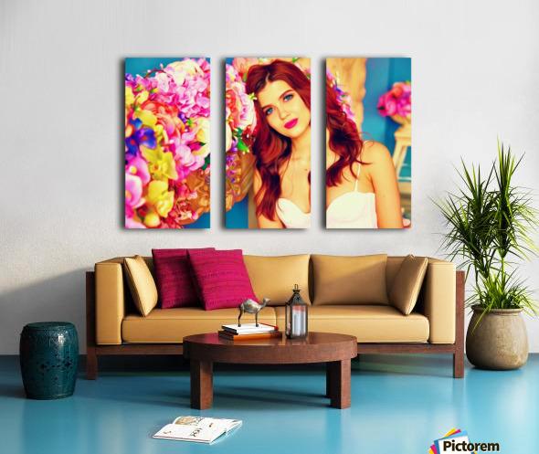 WeddingPic PicArt Split Canvas print
