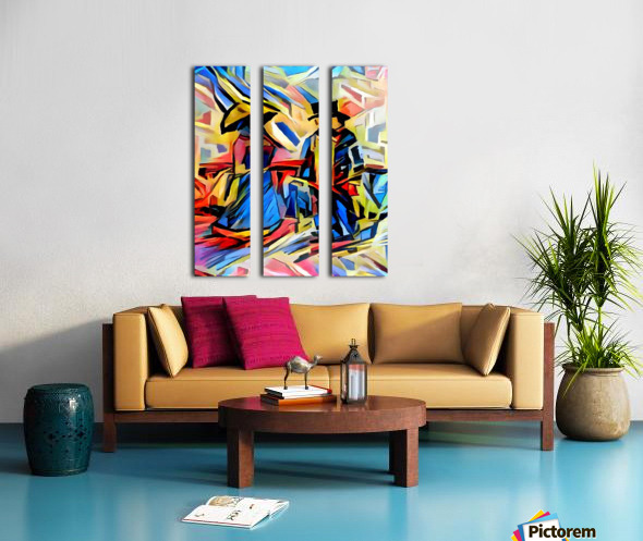 A116_e0 Split Canvas print