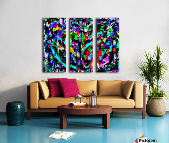 carnacoll Split Canvas print