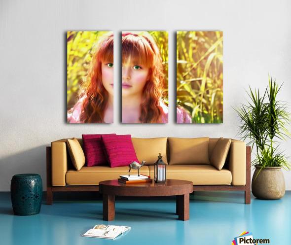 JesusEyes Split Canvas print