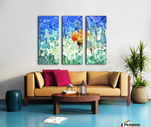 repixdrip Split Canvas print