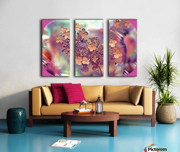 GoldLeaf Split Canvas print