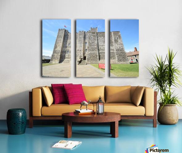 DOVER CASTLE, UK Split Canvas print