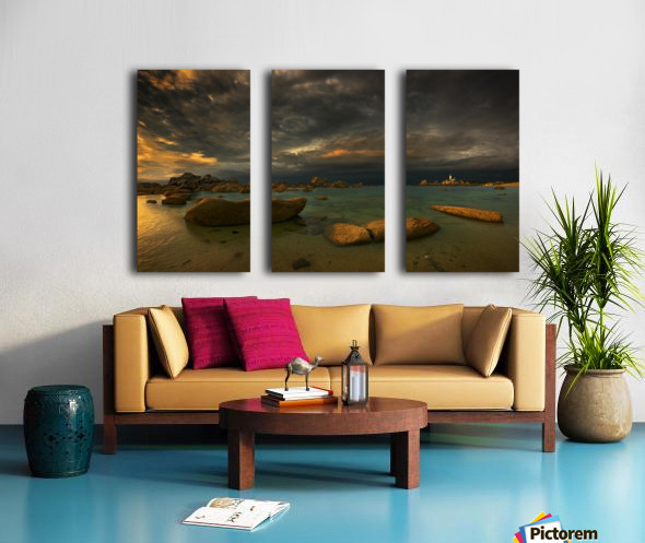 Pontusval... Split Canvas print