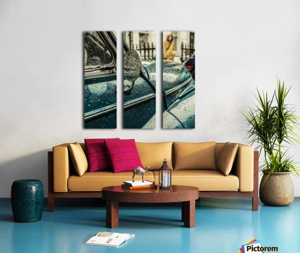 London Rain Split Canvas print