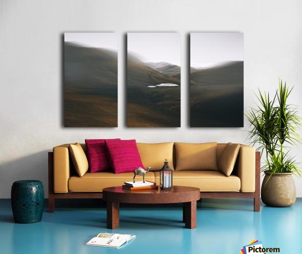 Quiet Split Canvas print
