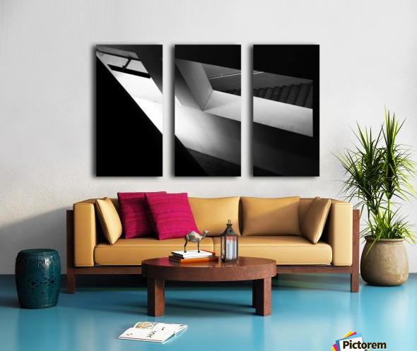 Light and shadow play Split Canvas print