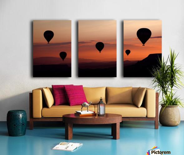 balloons Split Canvas print