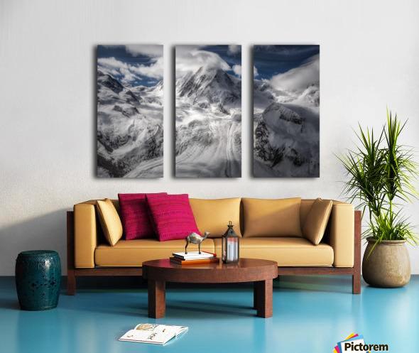 Glacial Split Canvas print