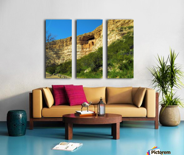 Montezuma's Castle  Split Canvas print