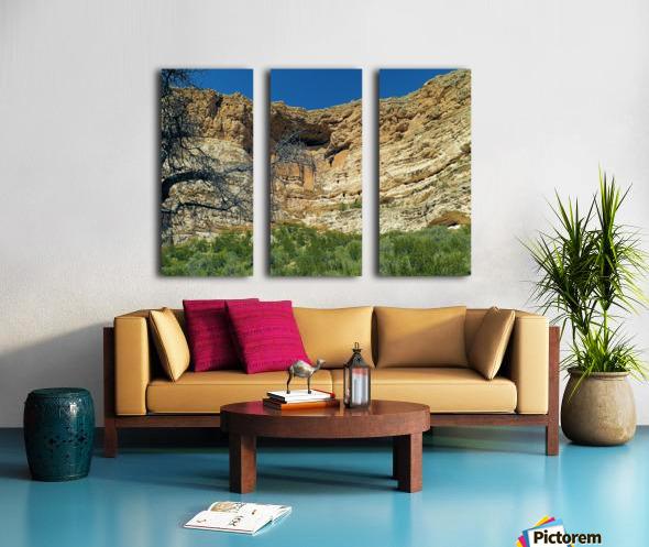 Montezuma's Castle-6 Split Canvas print