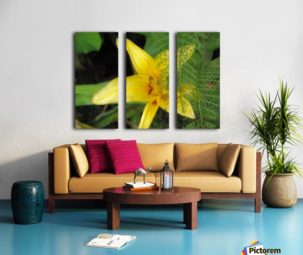 Yellow Flower-2 Split Canvas print
