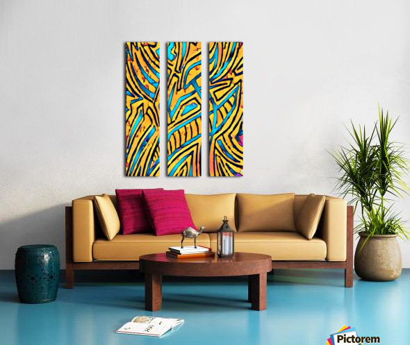 eyewill  Split Canvas print