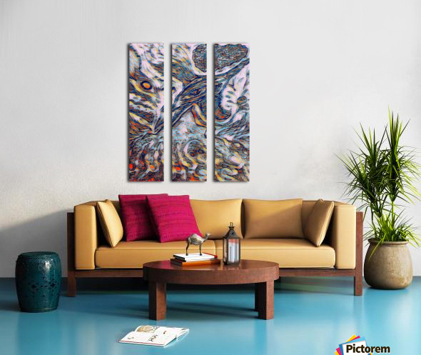 shiba  Split Canvas print