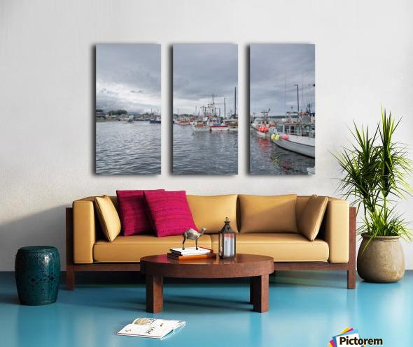 La Digue - Cheticamp Split Canvas print