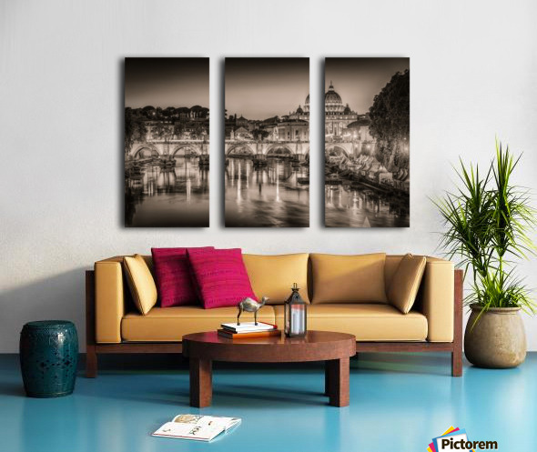 Rome Split Canvas print