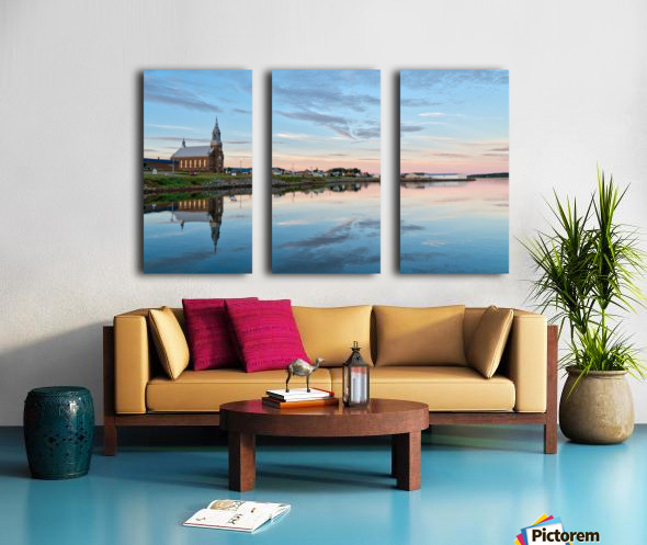 Brand New Day Split Canvas print