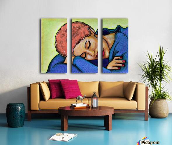 Siesta Ori Split Canvas print