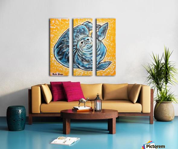 Foca Ori Split Canvas print