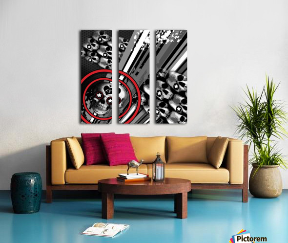 hoodtest_max Split Canvas print