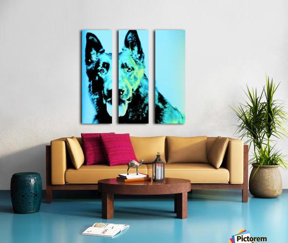 The Wild Moonlight Split Canvas print