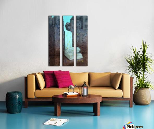 dream book Split Canvas print