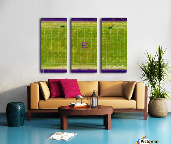 England, AR   Lions Football Field Split Canvas print