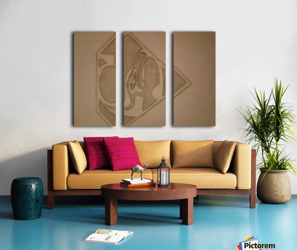 20170914_214041 SEAHAWKS Split Canvas print