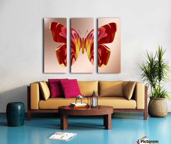 BejeweledButterfly Split Canvas print