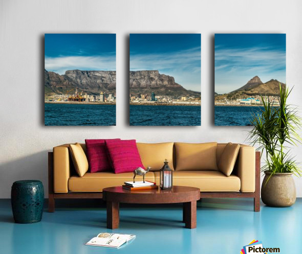 TableMtn_LionsHead Split Canvas print