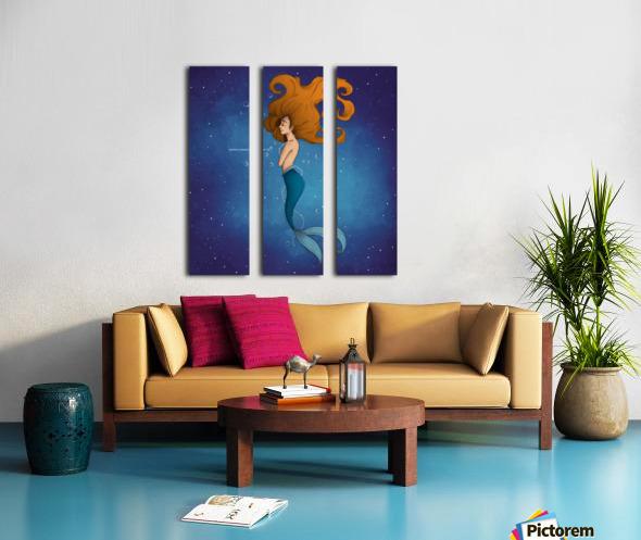 Aro_Mer Split Canvas print