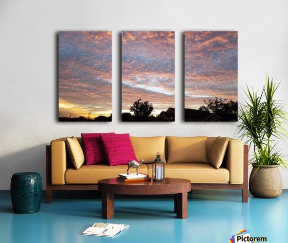 God's Masterpiece Split Canvas print