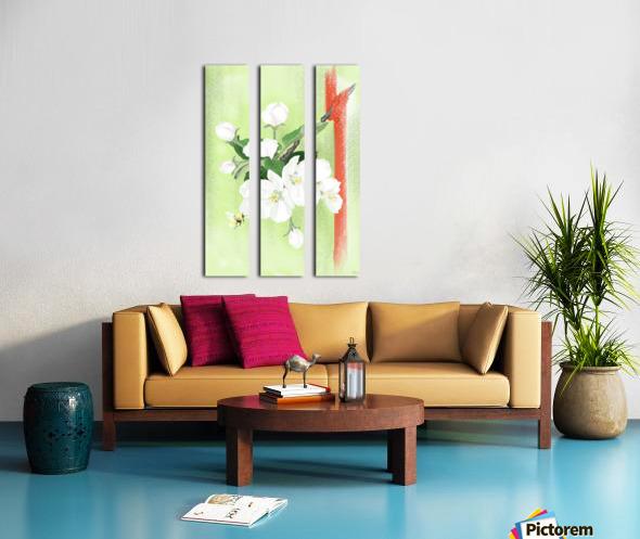 Apple tree Split Canvas print