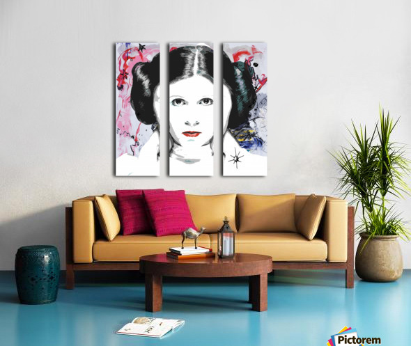Leia Split Canvas print