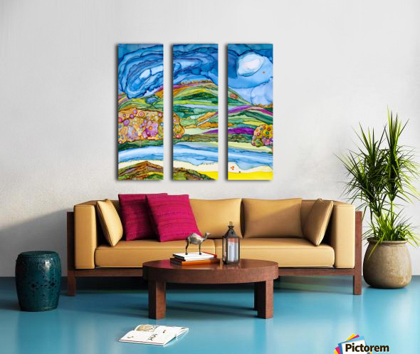 DreamLand Split Canvas print