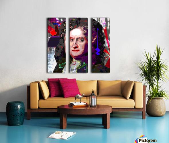 Newton Split Canvas print